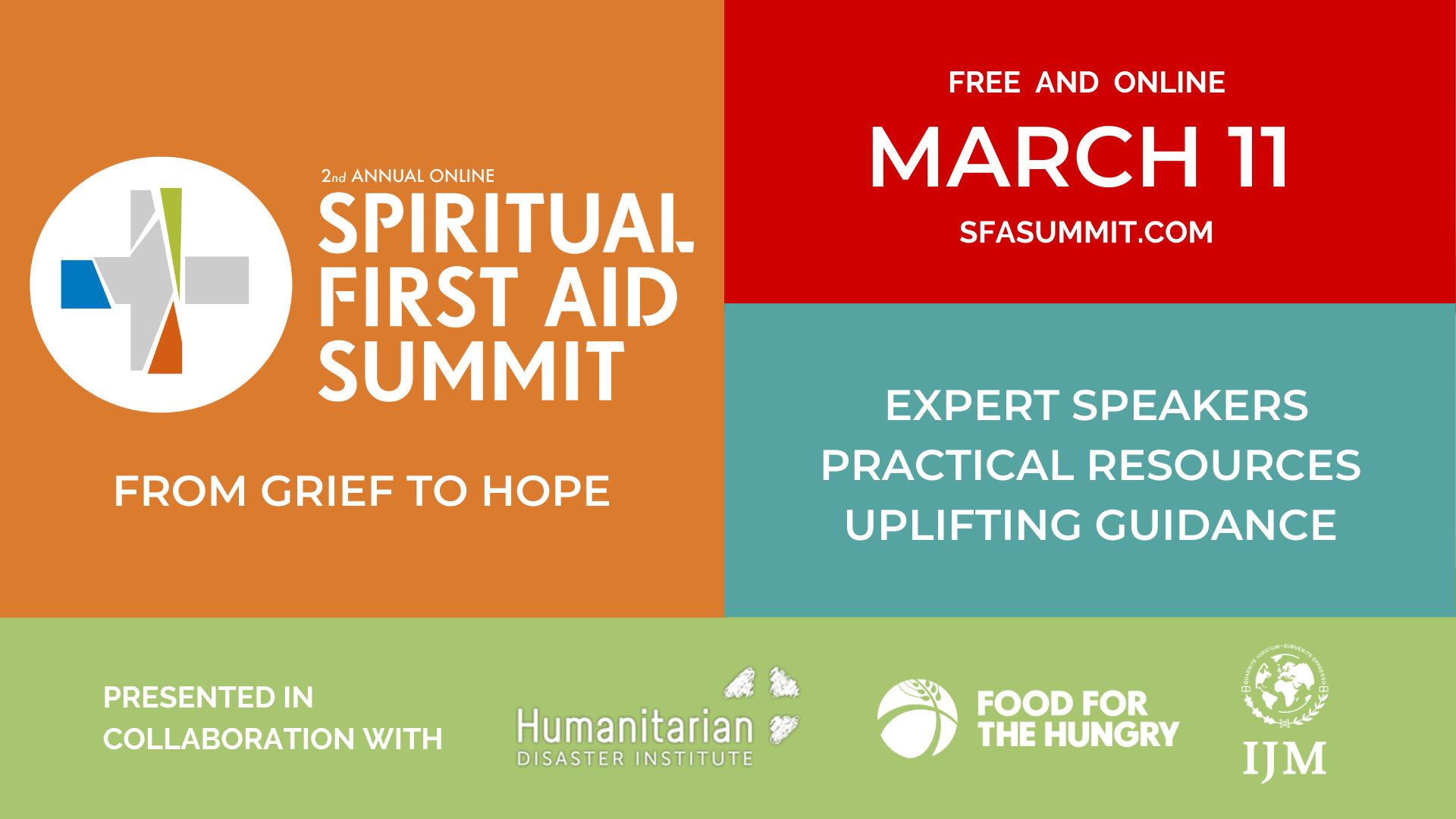 spiritual first aid summit